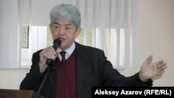 Президент экологического союза «Табигат» Мэлс Елеусизов.