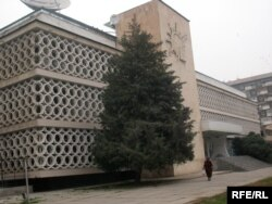 Бинои Иттиҳоди нависандагони Тоҷикистон.