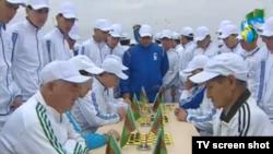 Sport we bagtyýarlyk günleri, Aşgabat