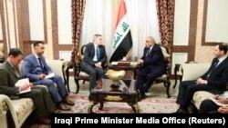 دیدار روز دوشنبه عادل عبدالمهدی با سفیر آمریکا در بغداد