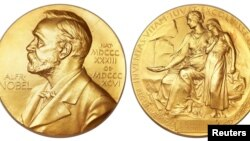 Нобель сыйлығының медалі.