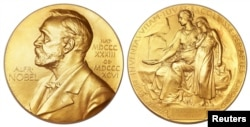 Nobel Mükafatının medalı