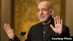 Авганистанскиот претседател Хамид Карзаи