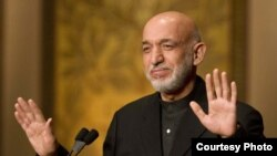 Afghanistan: President Karzai addressing a