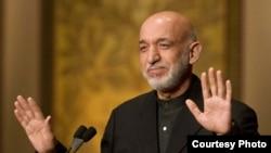 Afghanistan: President Karzai addressing a
