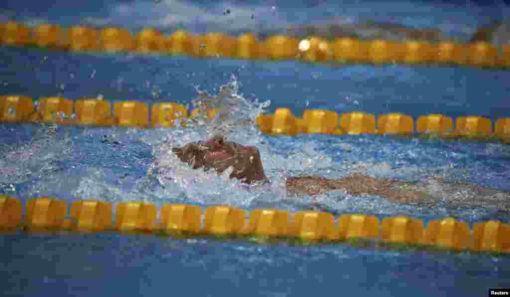 Геннадій Бойко, золотий призерЛітніх Паралімпійських Ігор 2016 із плавання на дистанцію 100 метрів на спині