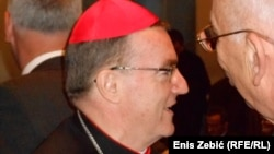 Kardinal Josip Bozanić, foto: Enis Zebić