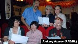 На презентации клипа «Струнка». Алматы, 24 апреля 2015 года.