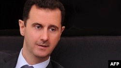 Syria -- President Bashar al-Assad during an interview with a Turkish newspaper Cumhuriyet in Damascus, 03Jul2012