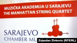 Plakat Sarajevo Chamber Music Festival, juni 2011