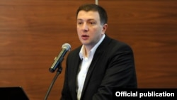 Ex-Mayor of Tbilisi Gigi Ugulava is charged with misspending state funds and money laundering.
