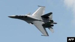Ресейдің Су-30 әскери ұшағы (Көрнекі сурет).