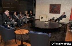 Dogovor sa premijerom Lukšićem, 2. novembar 2011