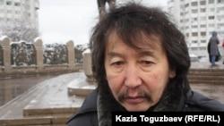 Калдыбай Абенов, режиссёр. Алматы, 17 декабря 2013 года.