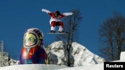 Сочи Олимпиадасында сноуборд ярышы