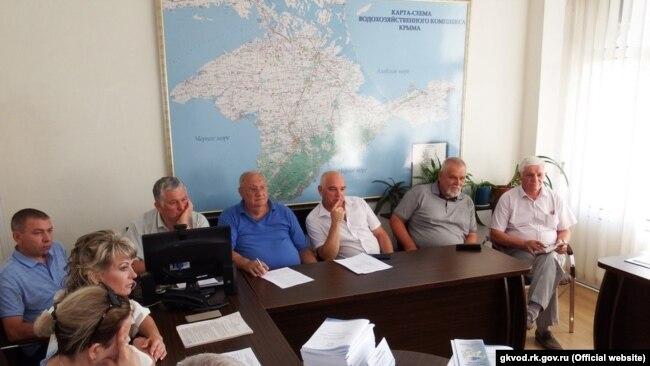 Научно-технический совет, одобривший проект реконструкции Межгорного водохранилища