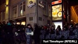 6 декабрь, Мәскәү, Триумфаль мәйдан