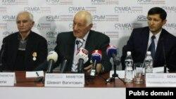 """""""Кырымтатарлар – Кырым – Русия"""" оешмасын оештыручылар"""
