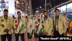 Ҳайати мунтахаби Тоҷикистон дар Рио-2016