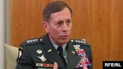 General David Petraeus in RFE/RL interview, Prague, 24May2009