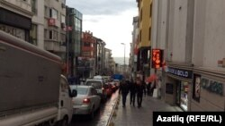 Туркия - яке аз кӯчаҳои Истанбул