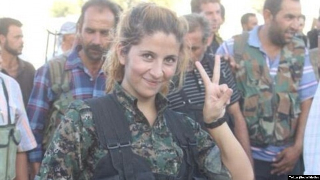 kobani poster child for kurdish female fighters beheaded by is