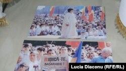 Imagine de la expoziția comemorativă a Independenței, de la Chișinău