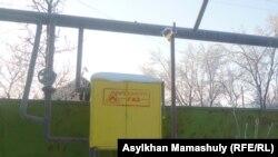 Алматы облысы Қарасай ауданындағы газ құбыры. 31 қаңтар 2012 жыл. (Көрнекі сурет)