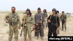 Government forces and pro-government militias are fighting against Taliban in Kunduz.