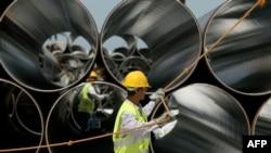 Izgradnja plinovoda TAP, Albanija