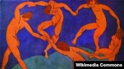 """Картина """"Танец"""" Анри Матисса."""