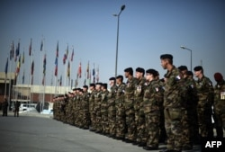 Солдати НАТО в Афганістані. Кабул, грудень 2014 року