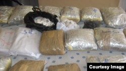 Synthetic narcotics confiscated in Iran, undated