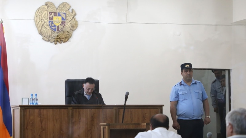 Kocharian's Trial Suspended