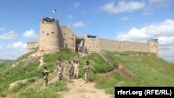 FILE: An Afghan security forces outpost in Badghis.