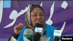 حبیبه سرابی معاون شورای عالی صلح افغانستان