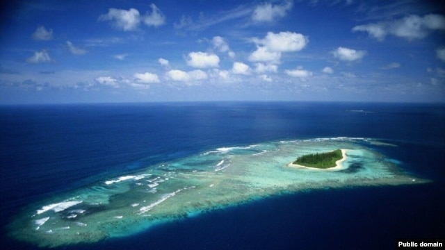 The Pacific island state of Tuvalu