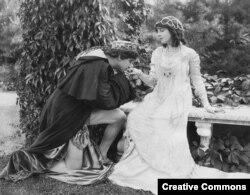 Кадр из фильма Ромео и Джульетта, 1916 год