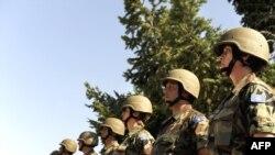 Pjesëtarë të FSK-së (Foto arkiv)