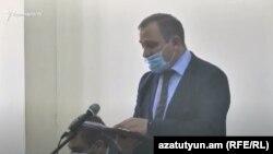 Armenia prosecutor Artur Chakhoian