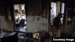 Офіс ў Грозным праваабарончай арганізацыі, якая выступае супраць катаваньняў, быў спалены ў сьнежні 2014 году.