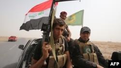 Իրաք - Շիա աշխարհազորայինները Թիքրիթից հյուսիս գտնվող Բայլի ավանում, արխիվ