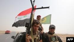 شبه نظامیان شیعه در شهر بیجی عراق