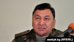 Лидер партии «Таза Кыргызстан» Марат Иманкулов в бытность заместителем председателя государственного комитета национальной безопасности Кыргызстана.