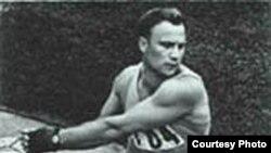 Рамуальд Клім, алімпійскі чэмпіён у кіданьні молата. Беларус з-пад Нясьвіжа