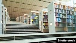 Унутры Катарскай нацыянальнай бібліятэкі
