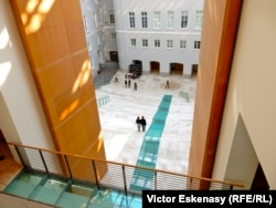 Spațiul amenajat în Palatul Marelui Stat Major