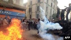 Беспорядки на площади Тахрир в Каире