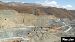 Armenia -- Gold mines at Sotk.