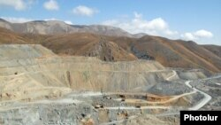 Armenia -- Gold mines at Sodk.